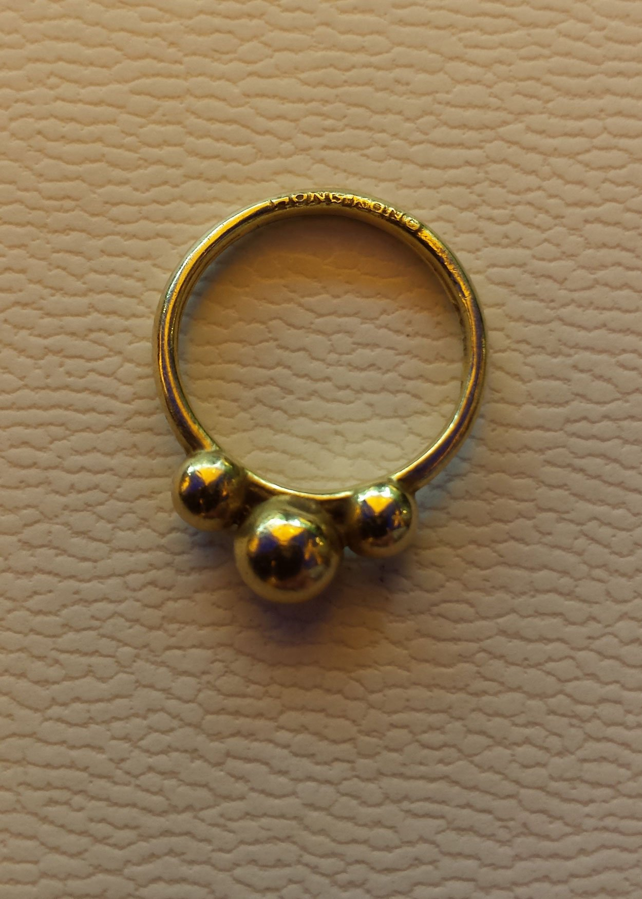 mccaul figure eight gold ring collection goldsmiths carat