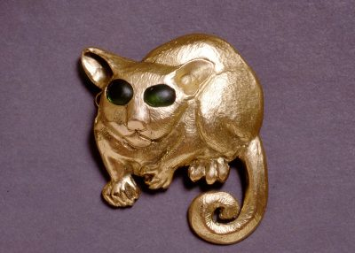 Bush-baby-brooch