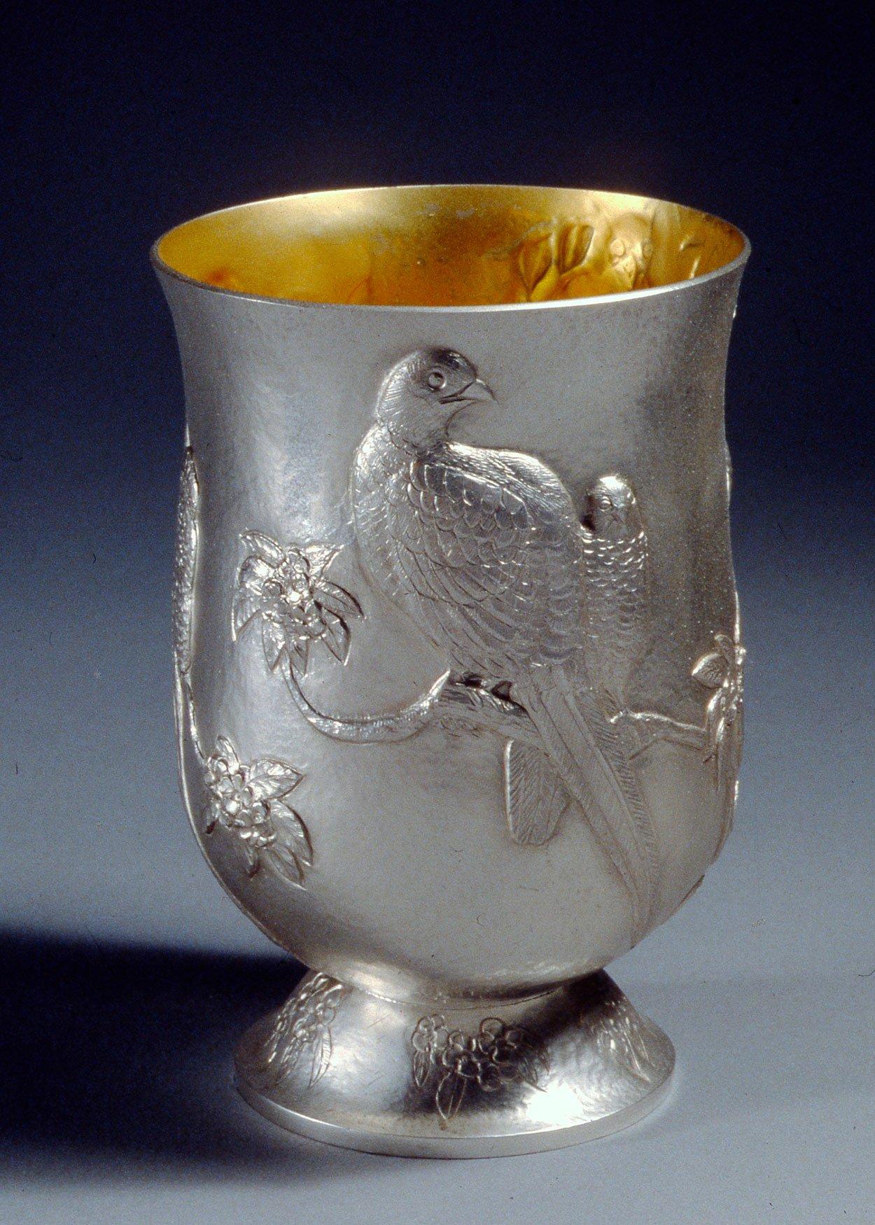 Fancy Pheasants Beaker