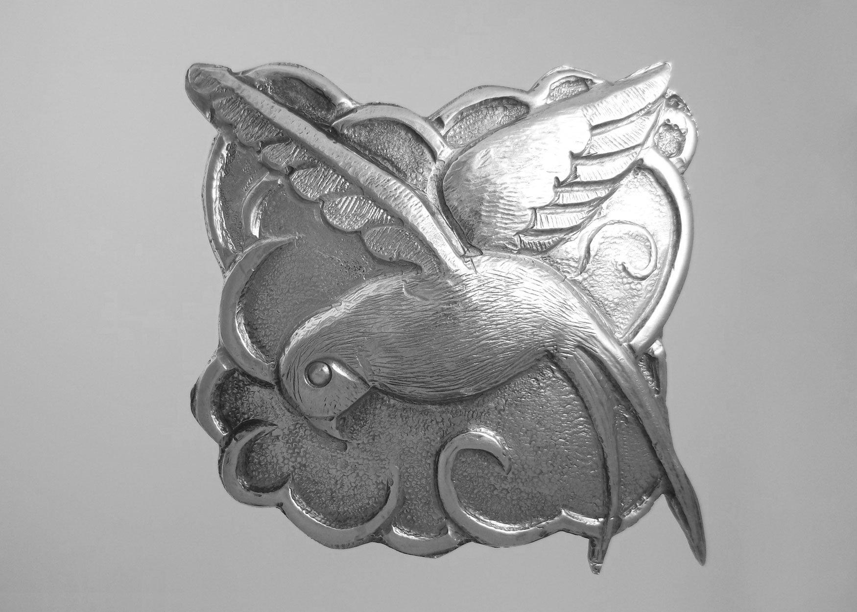swallow-brooch