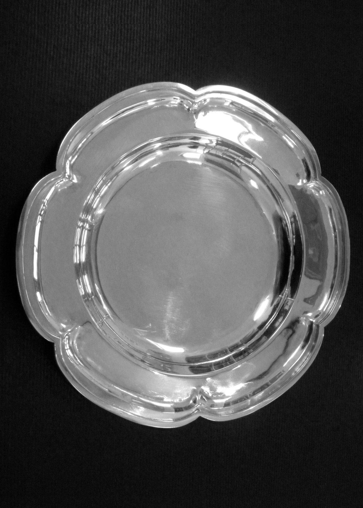 Silver Communion Plate